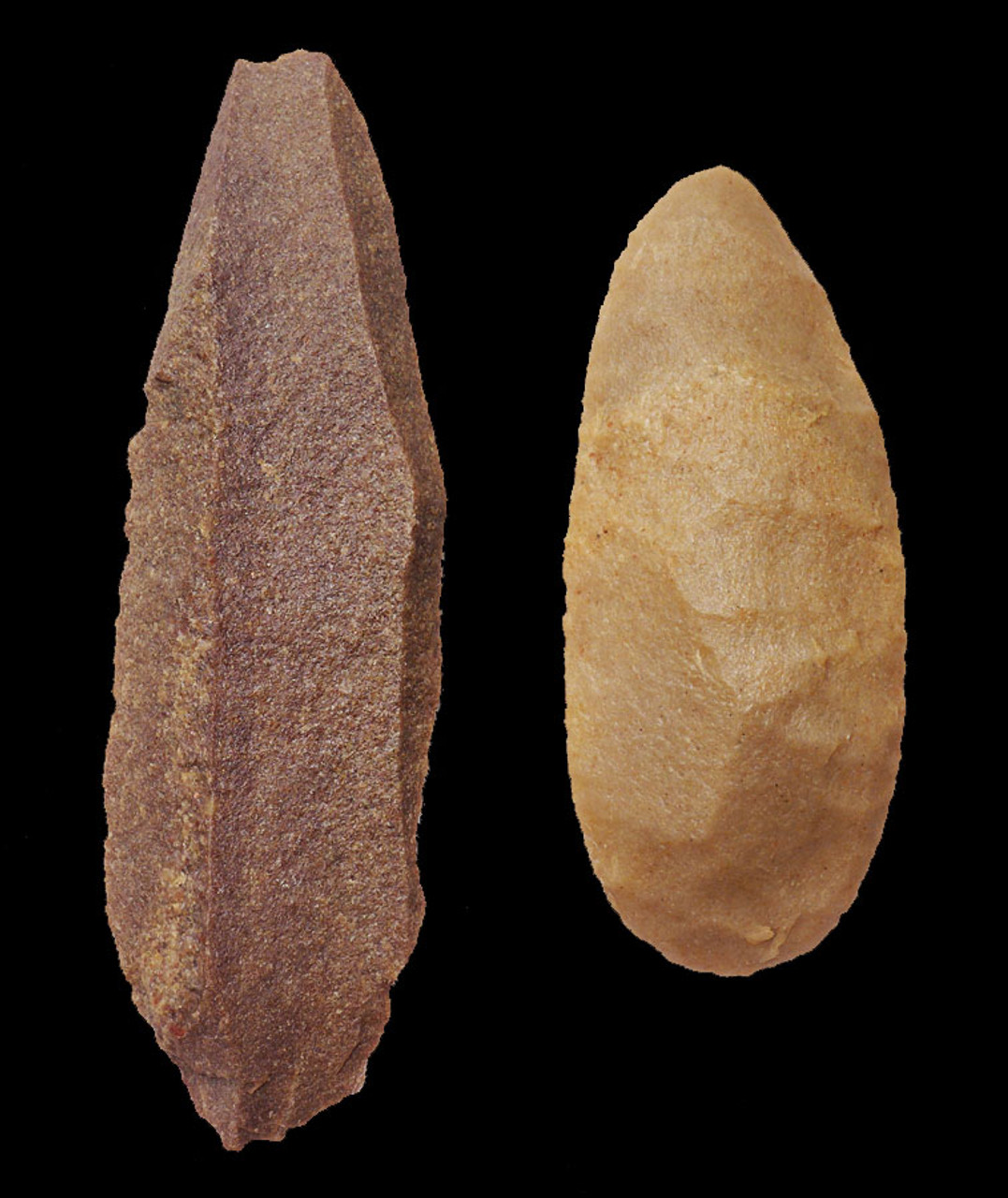 TWO TENERIAN AFRICAN NEOLITHIC FLAKED BLADES FROM THE PEOPLE OF THE GREEN SAHARA *CAP192