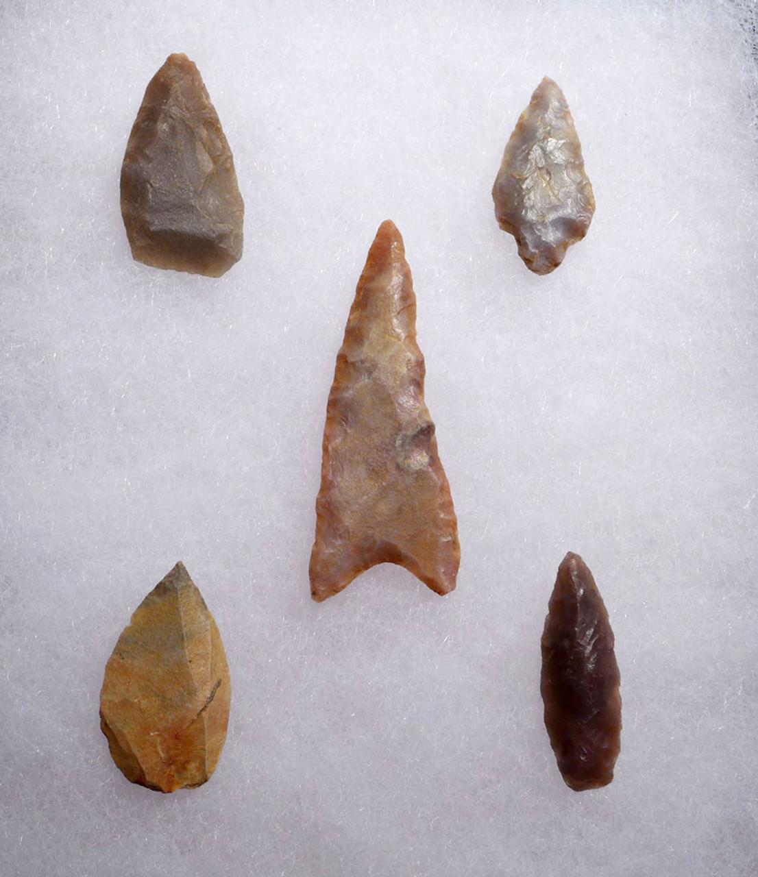 CAPSIAN AFRICAN NEOLITHIC ARROWHEADS
