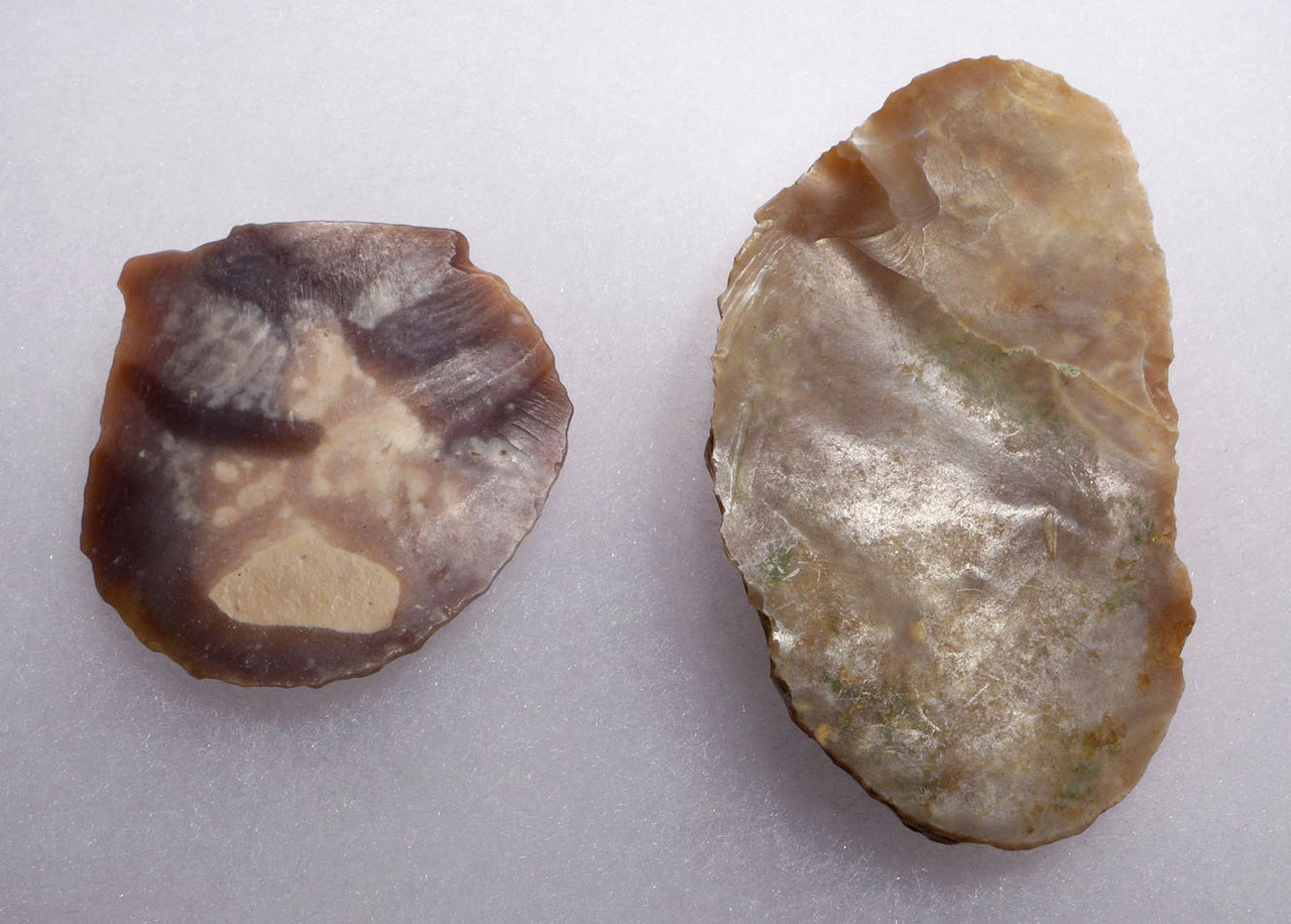 FINEST SIDE AND DISCOIDAL SCRAPERS FROM THE AFRICAN NEOLITHIC CAPSIAN CULTURE *CAP227