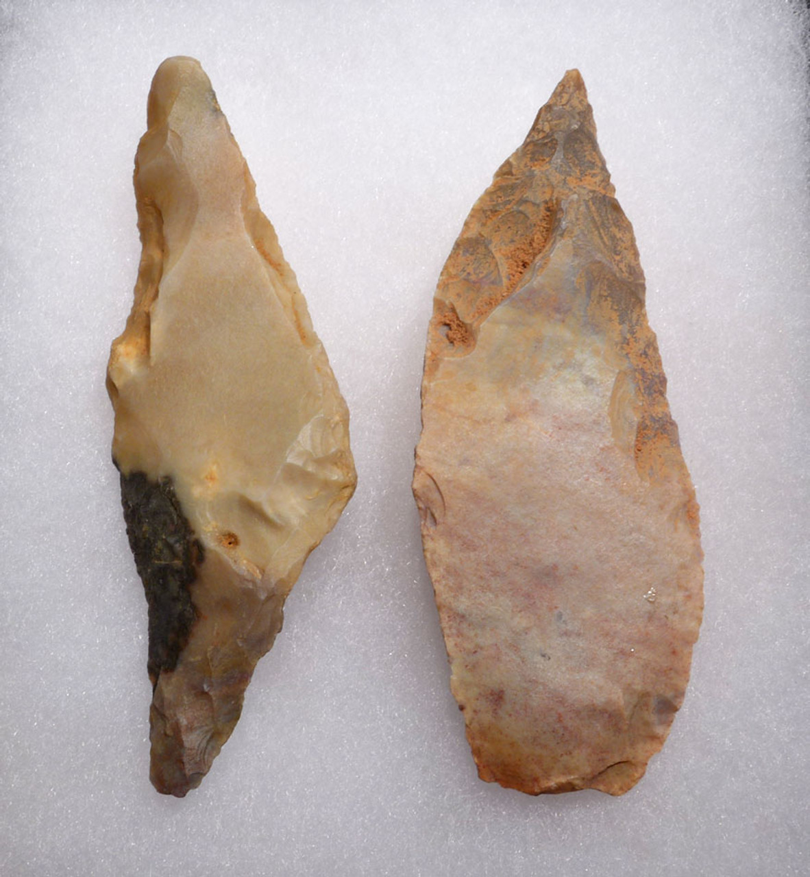 AFRICAN CAPSIAN NEOLITHIC LARGE DOUBLE KNIFE AND BORER STONE TOOLS *CAP221
