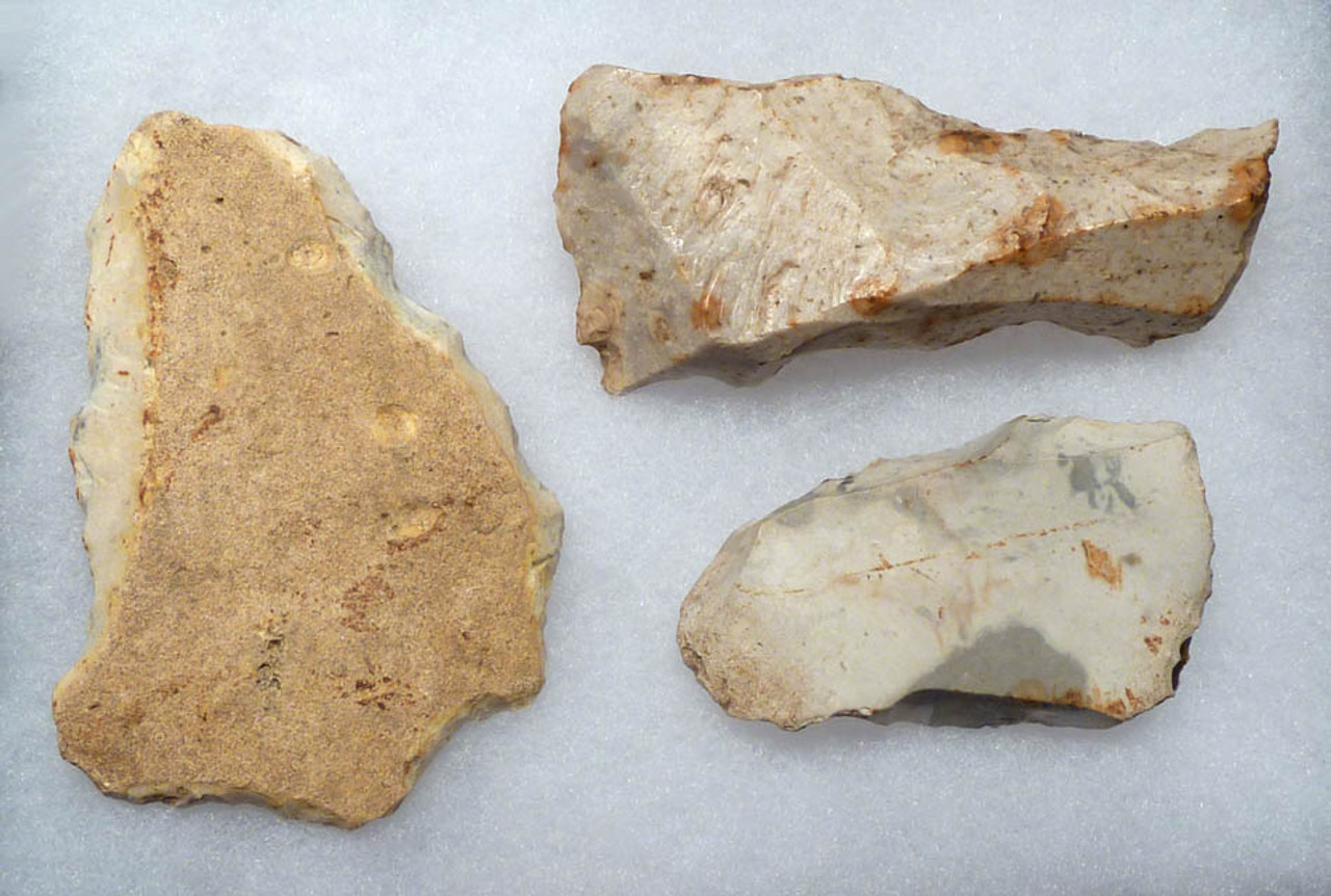 MICHELSBURG CULTURE BELGIAN NEOLITHIC AXES AND SCRAPER FROM WORLD-FAMOUS SPIENNES SITE *N117