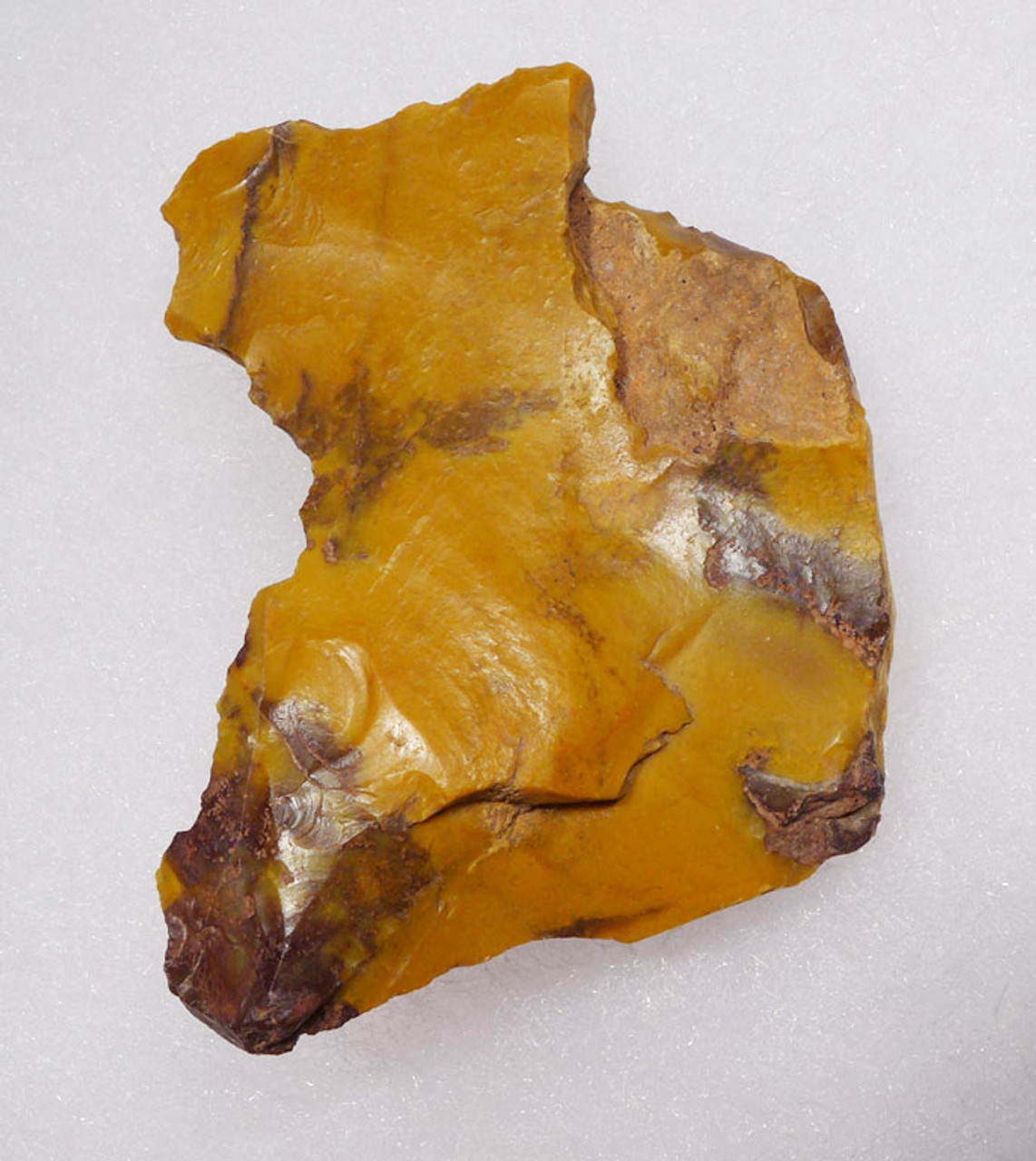 RARE YELLOW JASPER NEANDERTHAL MOUSTERIAN RABOT PLANER FLAKE TOOL FROM FONTMAURE FRANCE  *M387