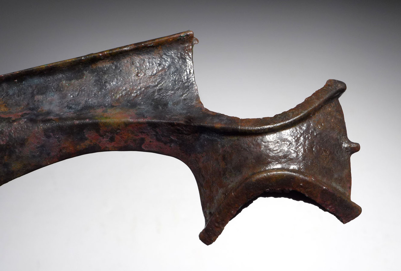 ELEGANT ANCIENT BRONZE LURISTAN AXE PRESTIGE WEAPON  *LUR140