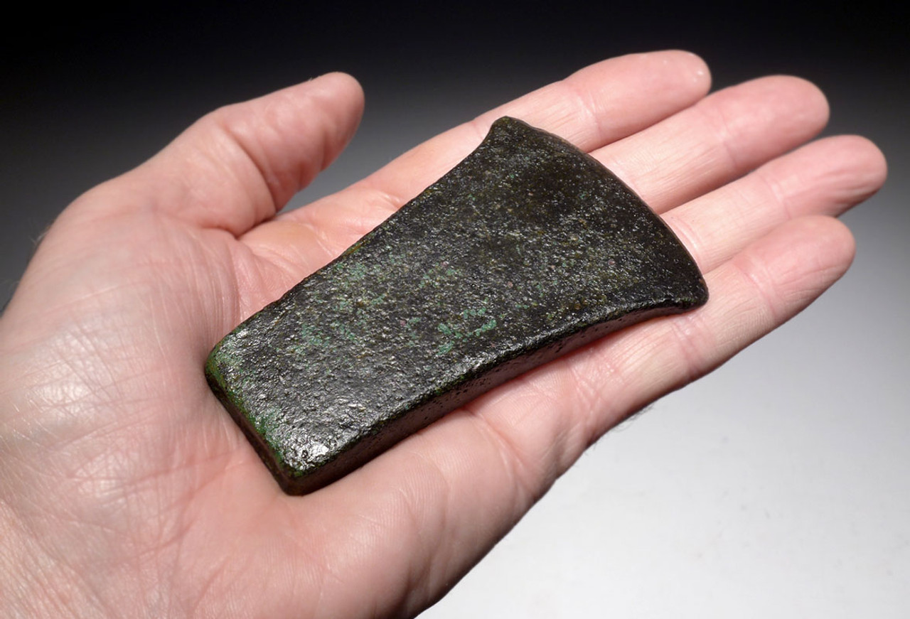ANCIENT NEAR EASTERN BRONZE AXE BLADE OLDEST BRONZE AGE AXE TYPE  *LUR152
