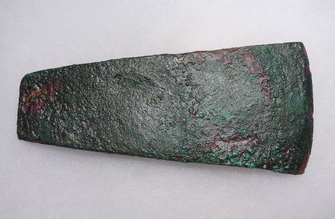 ANCIENT NEAR EASTERN BRONZE AXE BLADE OLDEST BRONZE AGE AXE TYPE  *LUR149