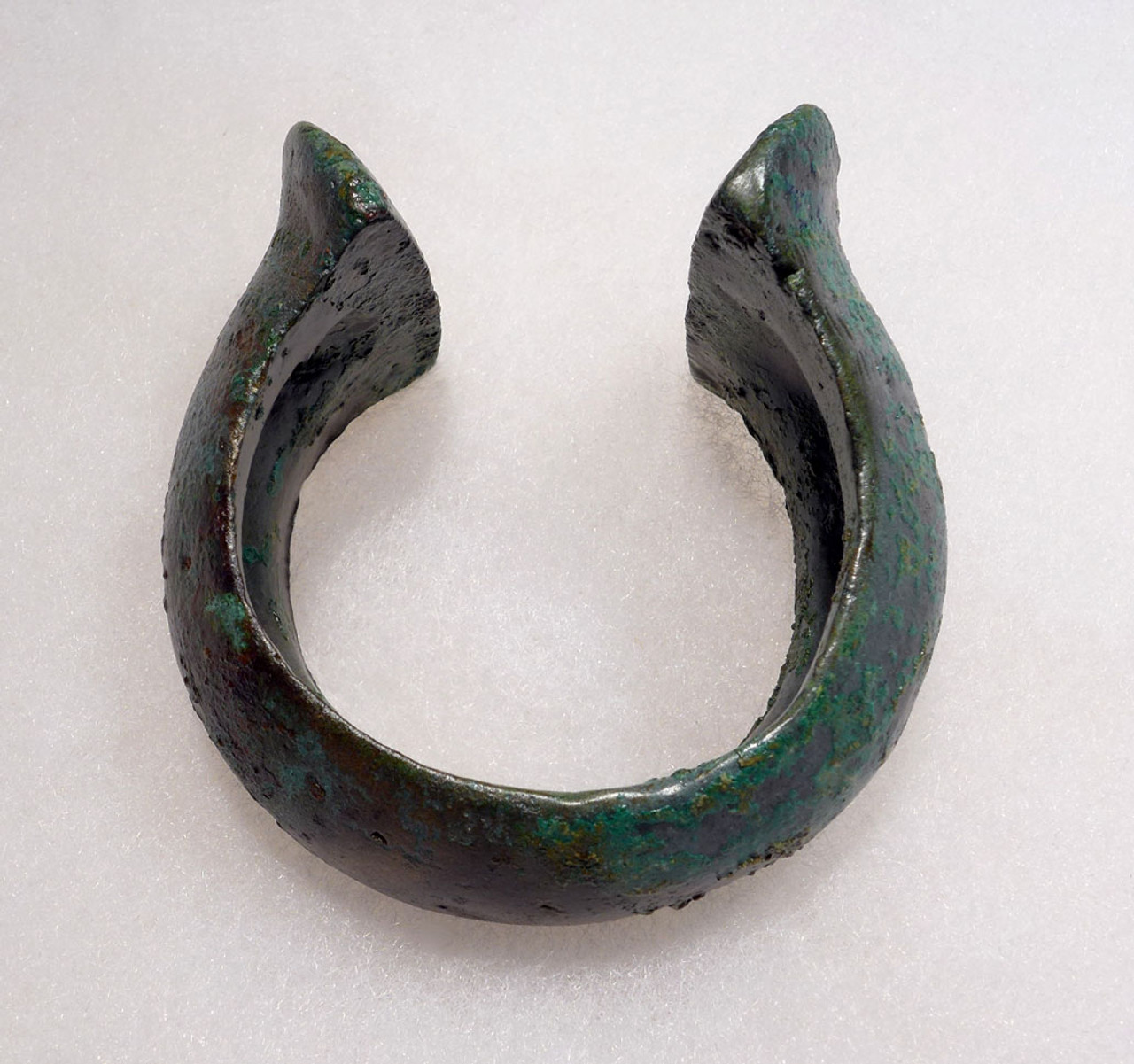 HEAVY ANCIENT LURISTAN BRONZE CUFF BANGLE BRACELET FOR A CHILD OF NOBLE CLASS  *LUR146