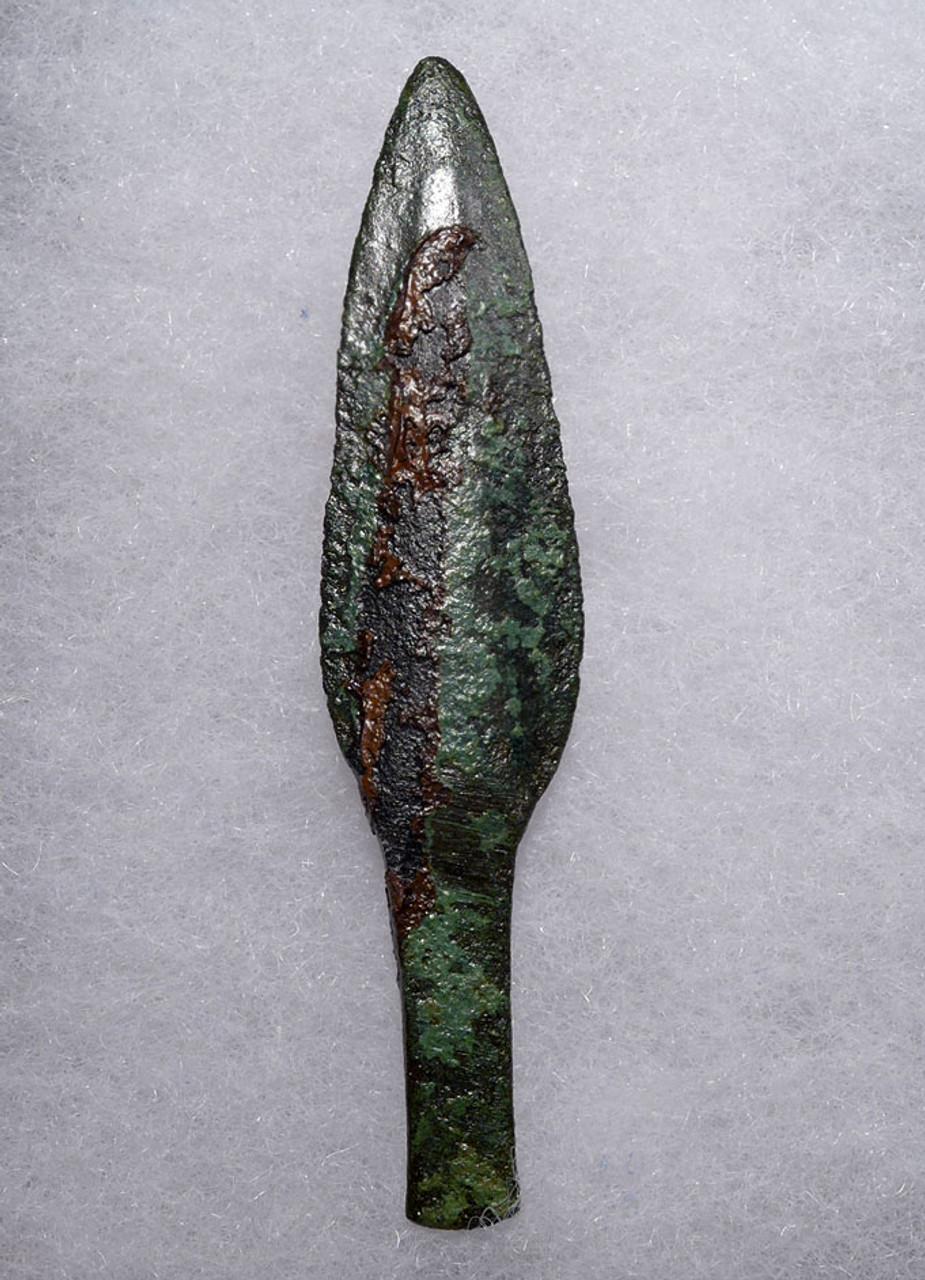 ANCIENT ACHAEMENID BRONZE LEAF BLADE ARROWHEAD OF THE FIRST PERSIAN EMPIRE  *LUR154