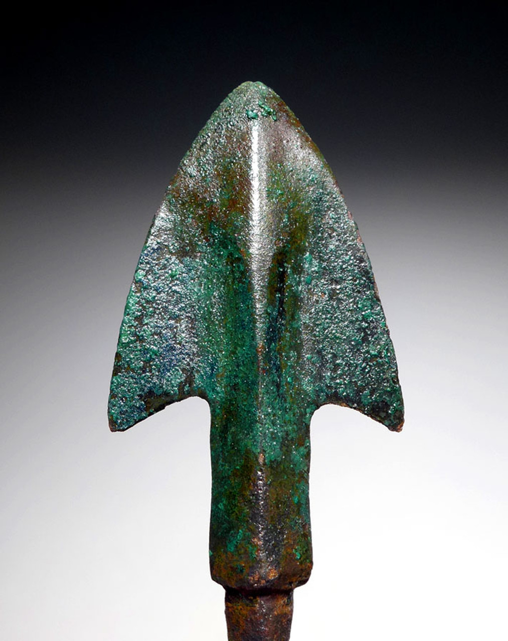SUPREME ANCIENT LURISTAN BRONZE BROADHEAD ARROWHEAD FOR WAR AND LARGE GAME HUNTING  *LUR156