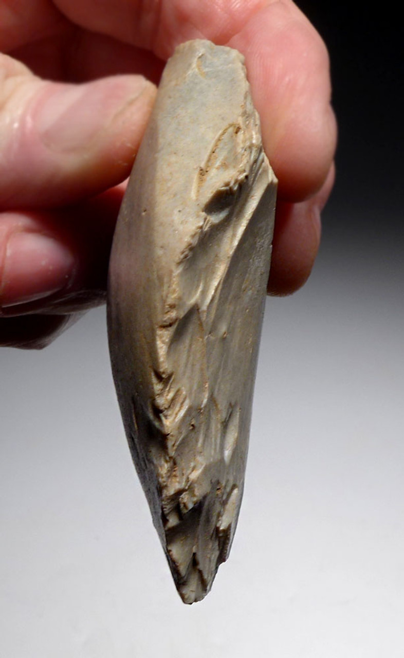 CHOICE NEANDERTHAL MOUSTERIAN FLINT BIFACE HAND AXE FROM NORMANDY FRANCE *M500