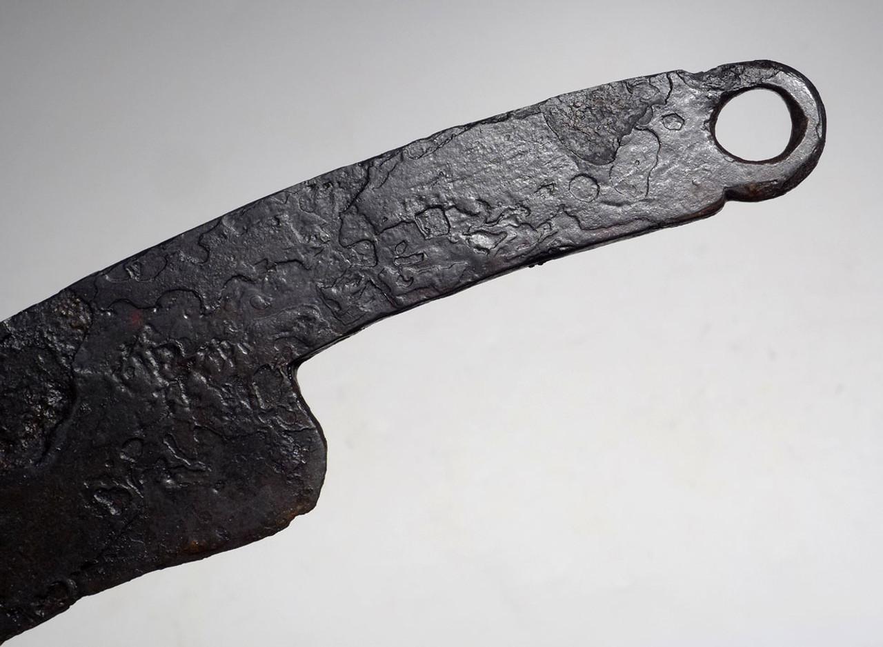 RARE ANCIENT CELTIC RING DAGGER SACRIFICED TO THE GODS  *CEL009