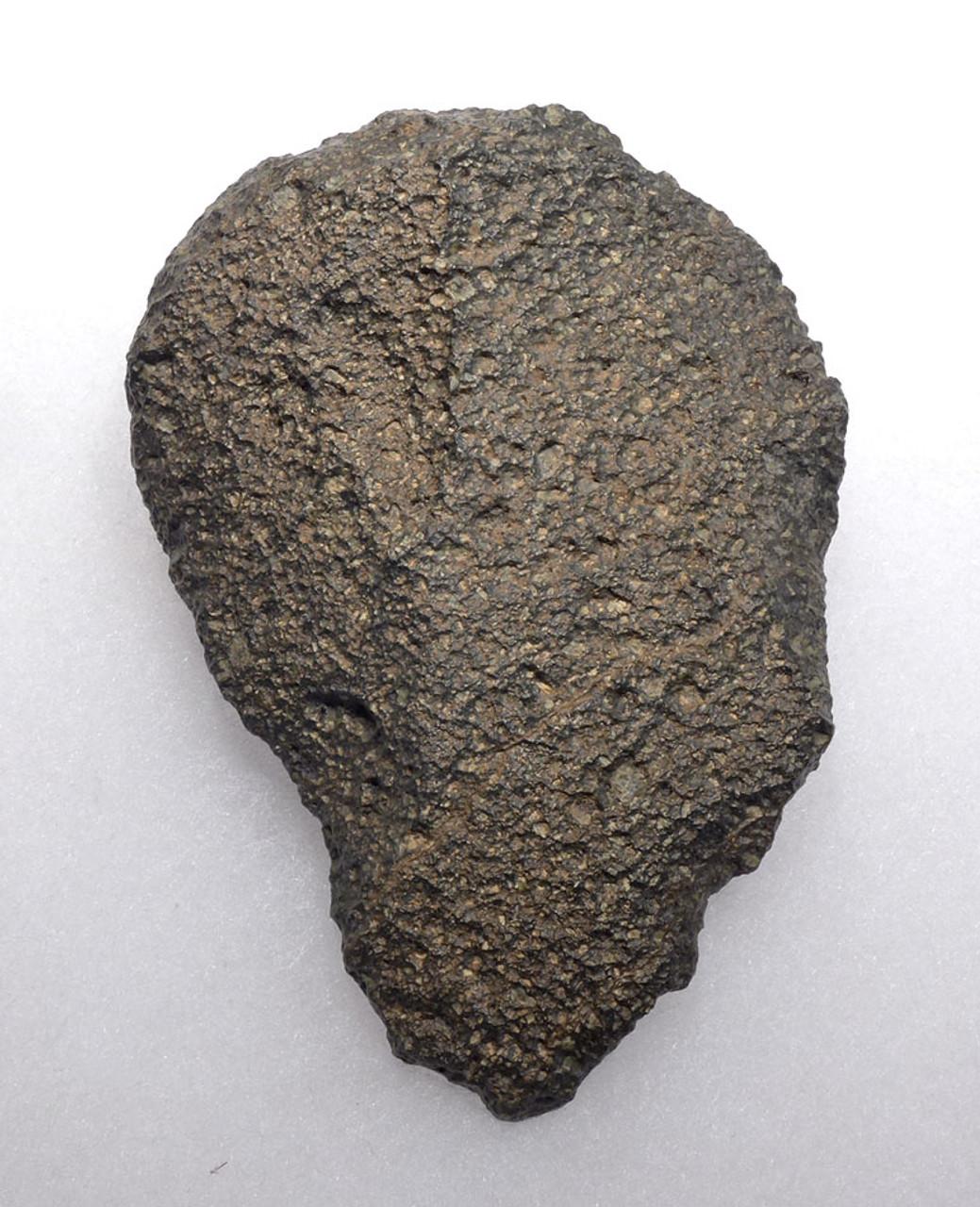 RARE AFRICAN LOWER PALEOLITHIC OLDOWAN PEBBLE CHOPPER AXE OF VESICULAR BASALT  *PB135