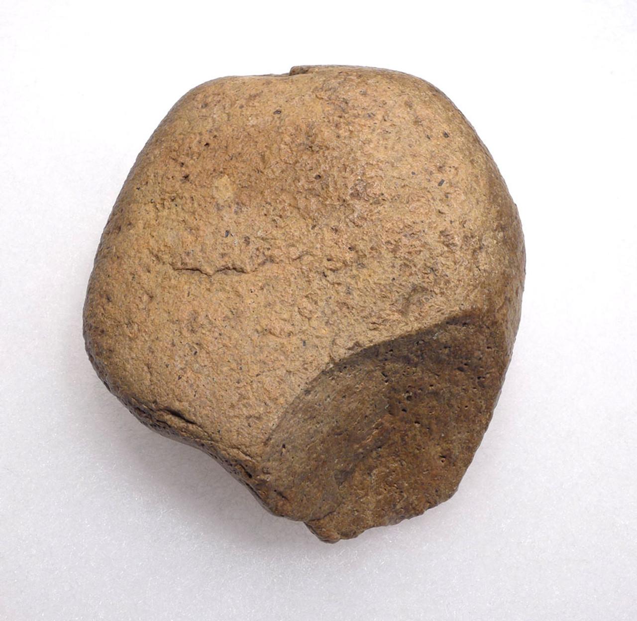 BONE-CRUSHING AFRICAN OLDOWAN PEBBLE CHOPPER AXE  *PB137