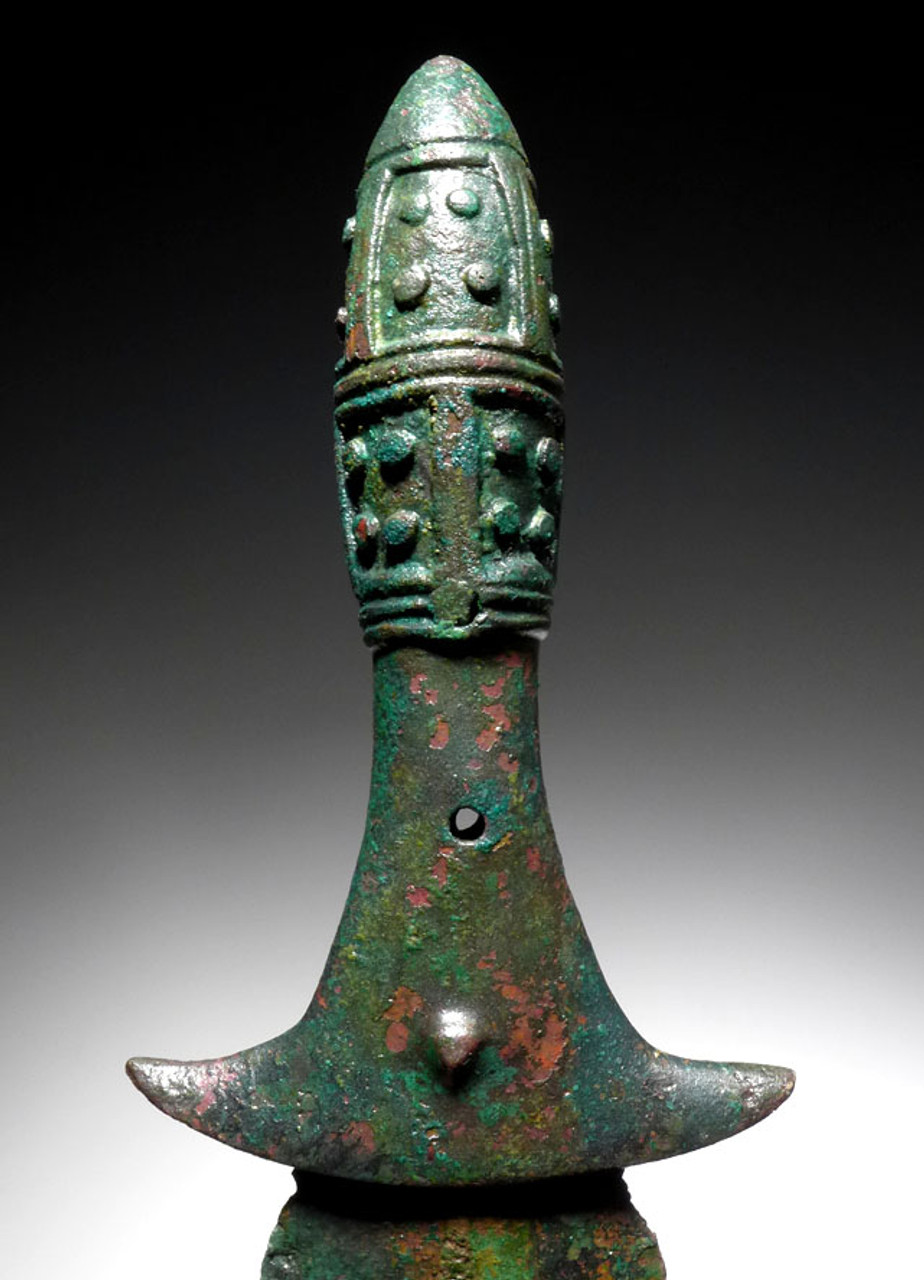 OLDEST FIRST LURISTAN BRONZE ANCIENT DAGGER