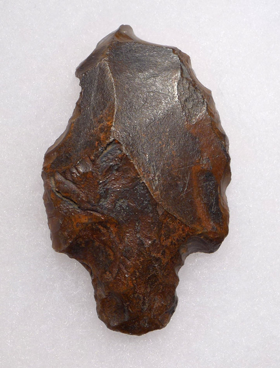 VERY LARGE OLDEST KNOWN TANGED ARROWHEAD - MIDDLE PALEOLITHIC ATERIAN POINT *AT100