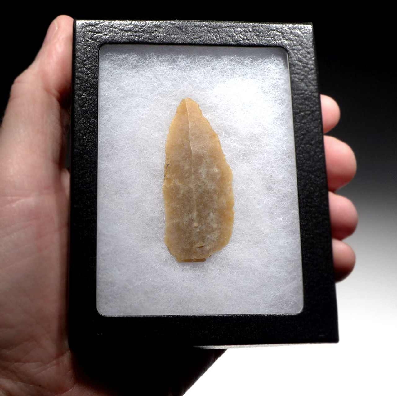 AURIGNACIAN BLADE STONE TOOL MADE BY CRO-MAGNON MAN FROM UPPER PALEOLITHIC FRANCE  *UP031