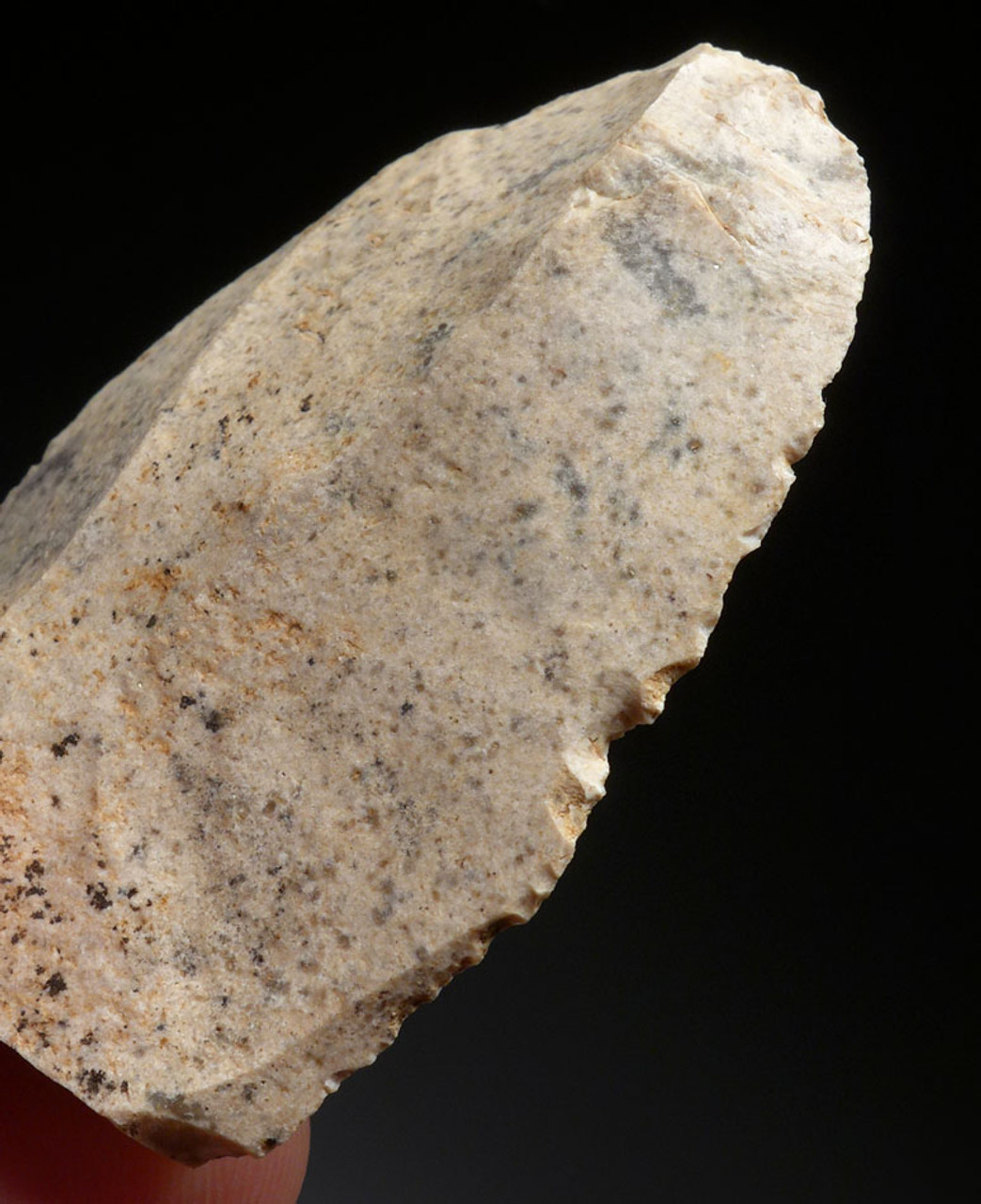 MOUSTERIAN NEANDERTHAL BLADE FLAKE TOOL SCRAPER FROM FRANCE  *M409
