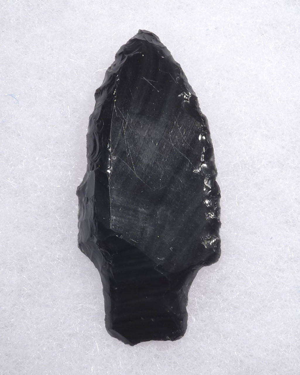 RARE BANDED OBSIDIAN PRE-COLUMBIAN ATLATL POINT SPEARHEAD  * PC306