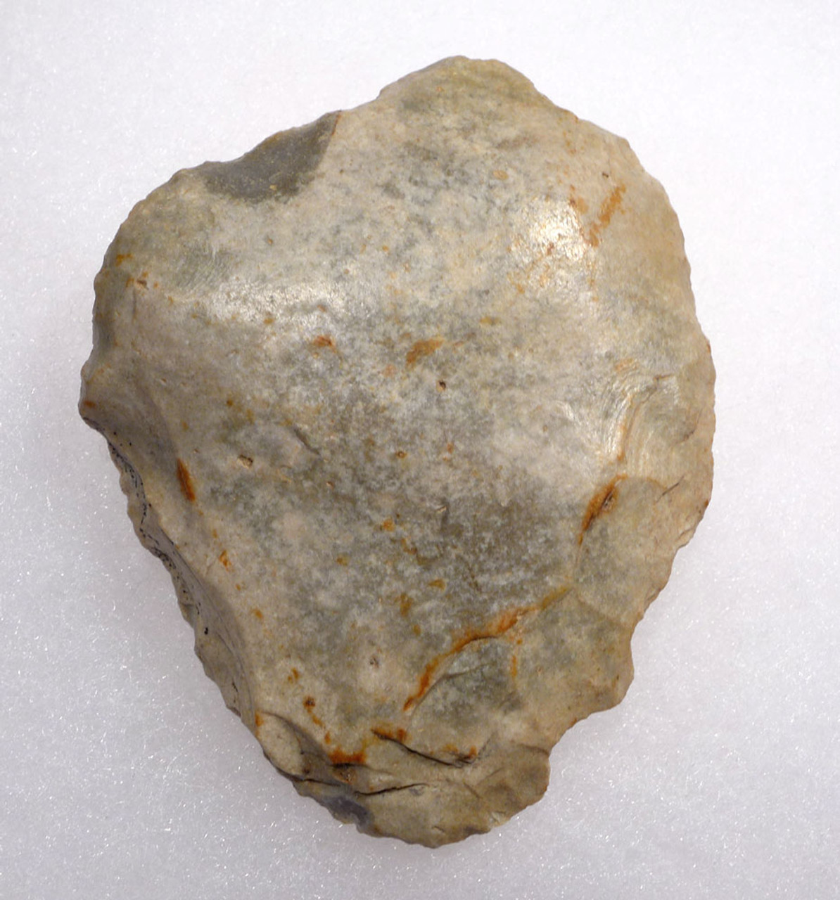 NEANDERTHAL MOUSTERIAN FLINT BIFACE HAND AXE FROM NORMANDY FRANCE *M411