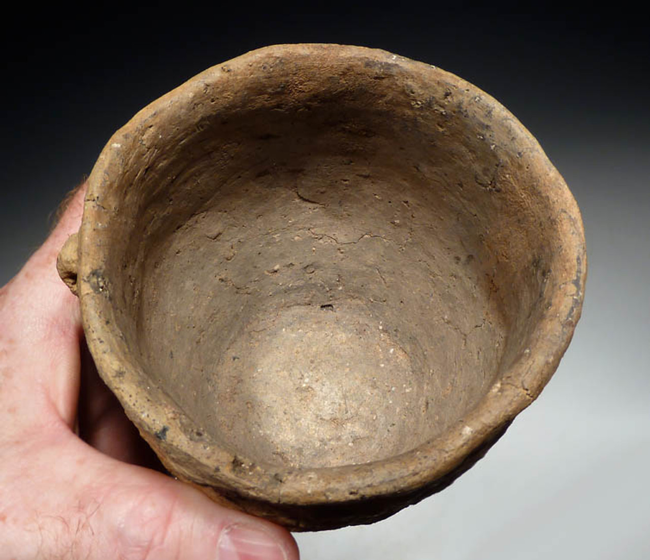RARE URNFIELD LUSATIAN BRONZE AGE CERAMIC CUP  *UP005