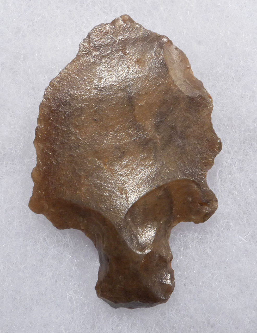 OLDEST PREHISTORIC TANGED ARROWHEAD - MIDDLE PALEOLITHIC ATERIAN POINT  *AT105