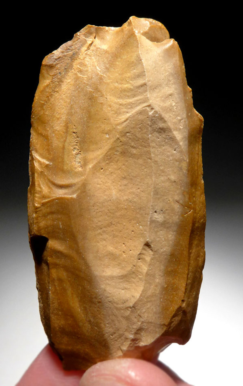 FOUR LARGE EXCEPTIONAL EARLY MAN ATERIAN FLAKE TOOLS FROM PREHISTORIC AFRICA  *AT106