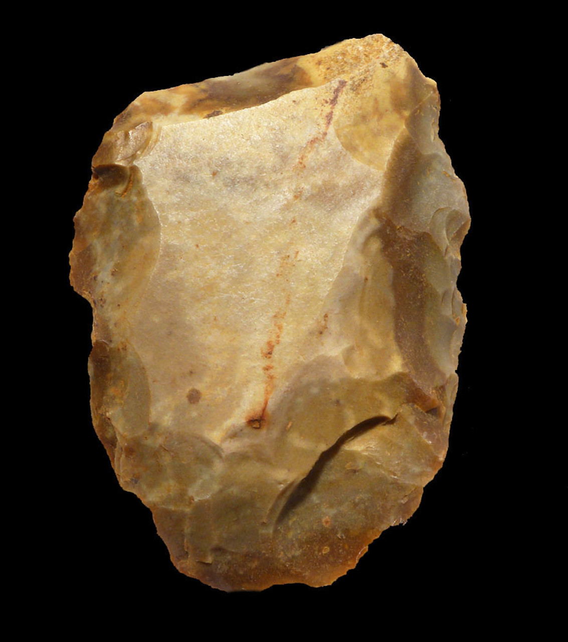 FINEST NEANDERTHAL MOUSTERIAN BIFACE HAND AXE FROM FRANCE WITH EXPERT CENTRIPETAL FLAKING  *M415