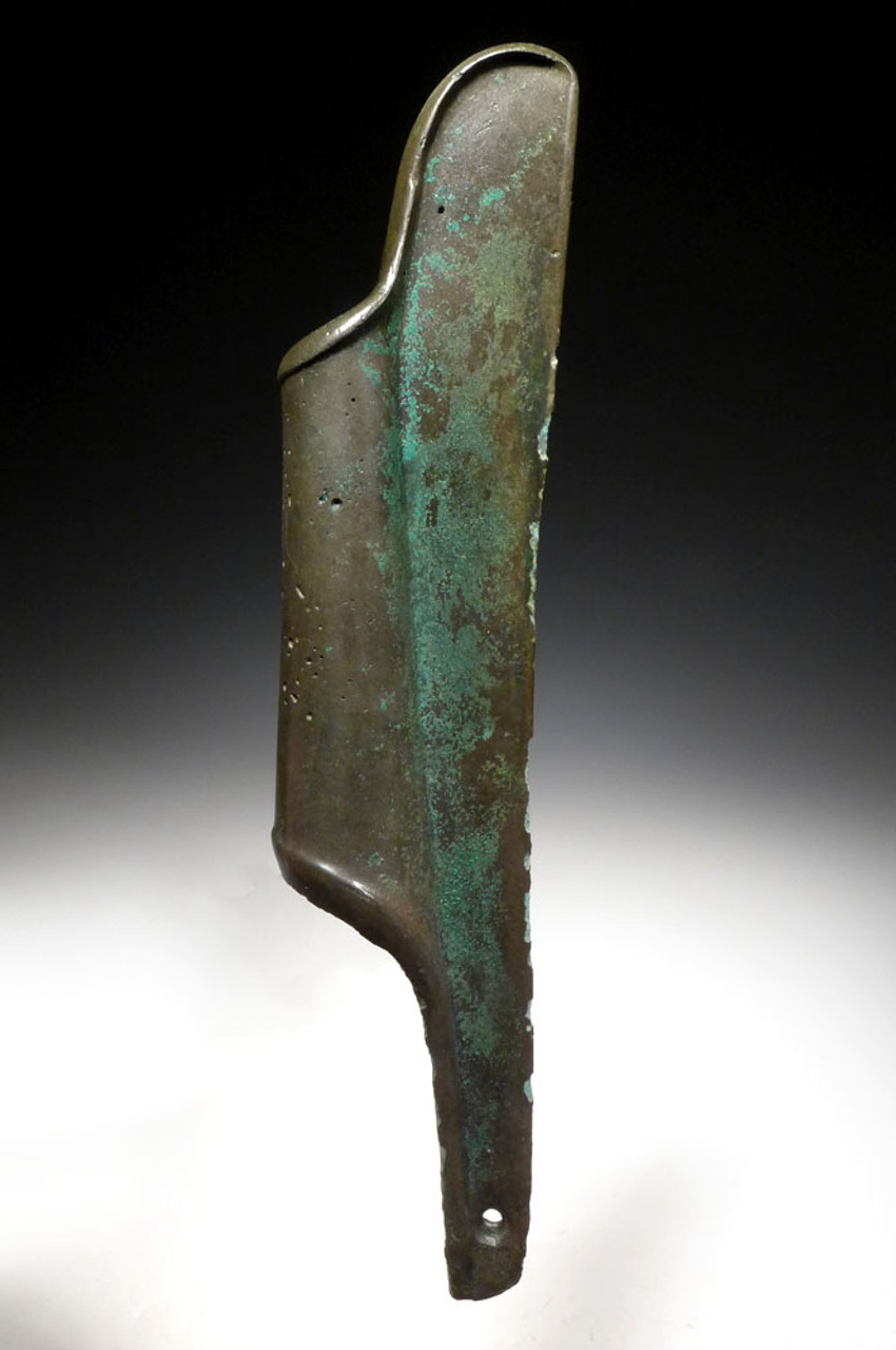 EXTREMELY RARE ANCIENT BRONZE POLE AXE OF THE SAKA SCYTHIAN CULTURE  *LUR173