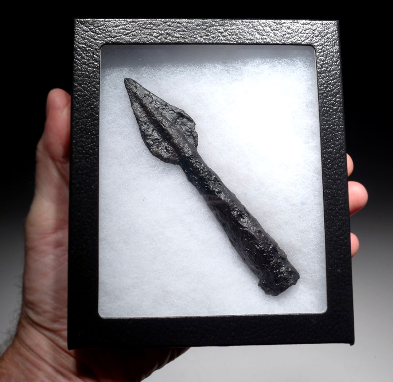 ANCIENT CELTIC IRON THROWING JAVELIN SPEARHEAD FROM THE BALKAN CELT TRIBES  *CEL019
