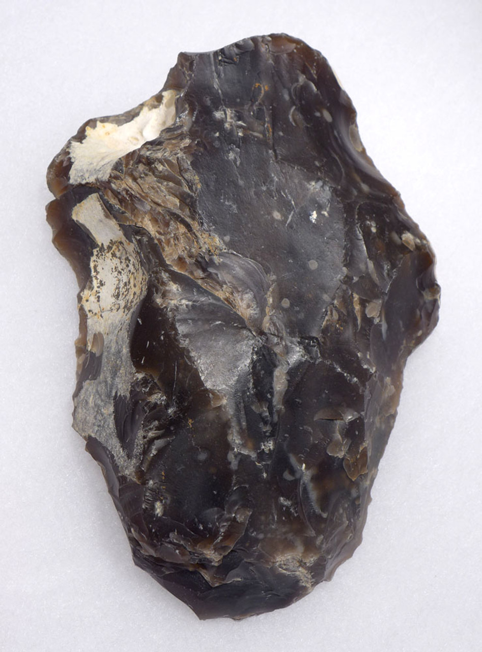 LARGE NEOLITHIC FLINT FLAKE TOOL CORE FROM THE WORLD-FAMOUS SPIENNES SITE OF BELGIUM  *N195