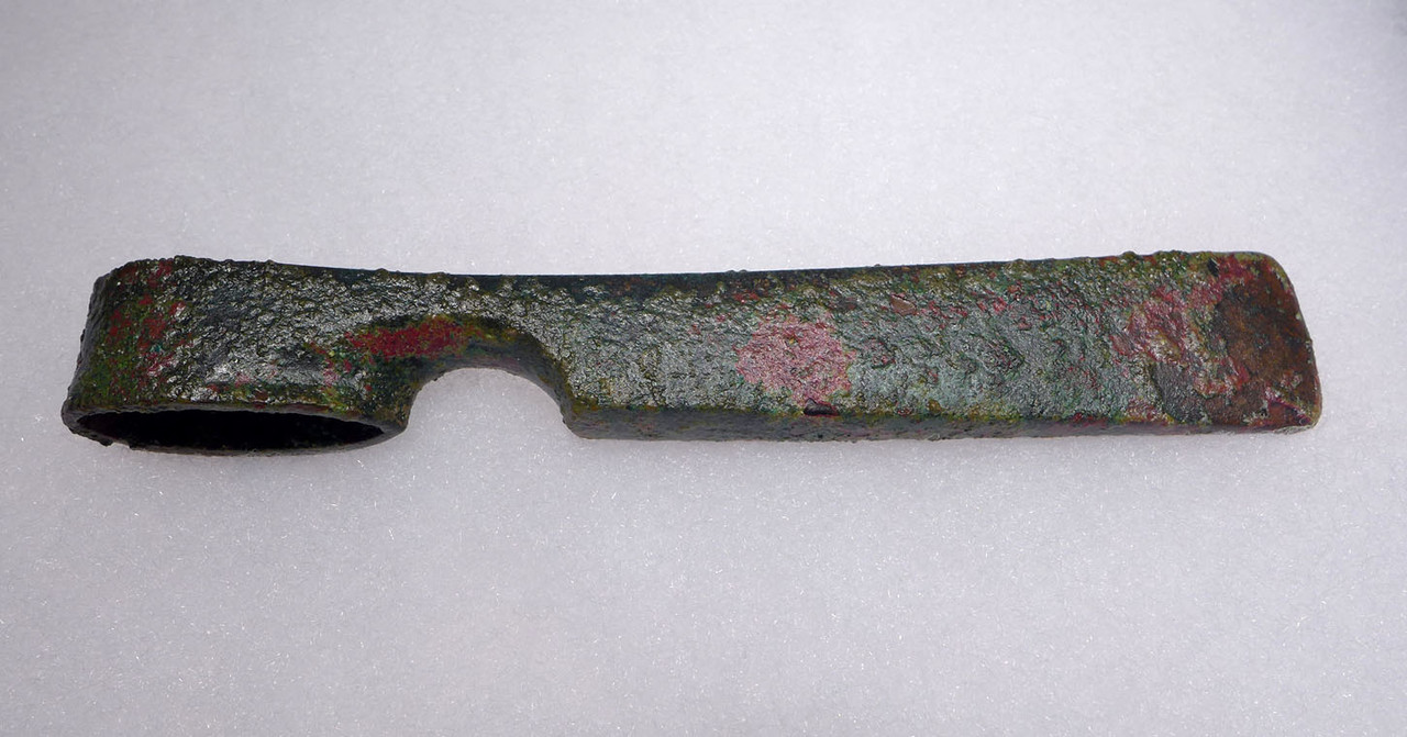 BRONZE AXE FROM THE ANCIENT CANAANITES OF THE BIBLICAL HOLY LAND  *LUR188