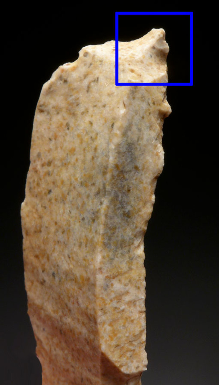 THREE RARE UPPER PALEOLITHIC MAGDALENIAN BLADE TOOLS FROM FAMOUS FRENCH CAVE ART SITE  *UP021