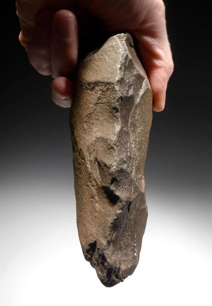 EXCEPTIONAL HOMO ERECTUS HAND AXE FROM THE ACHEULEAN STONE AGE OF AFRICA  *ACH291