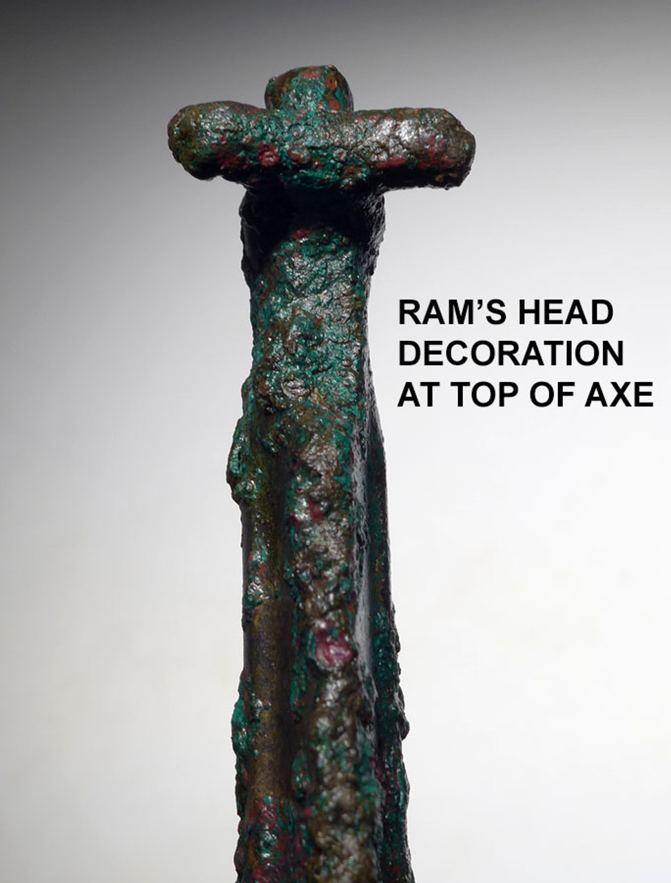 LARGEST KNOWN ANCIENT ROYAL LURISTAN BRONZE HALBERD AXE  *LUR193