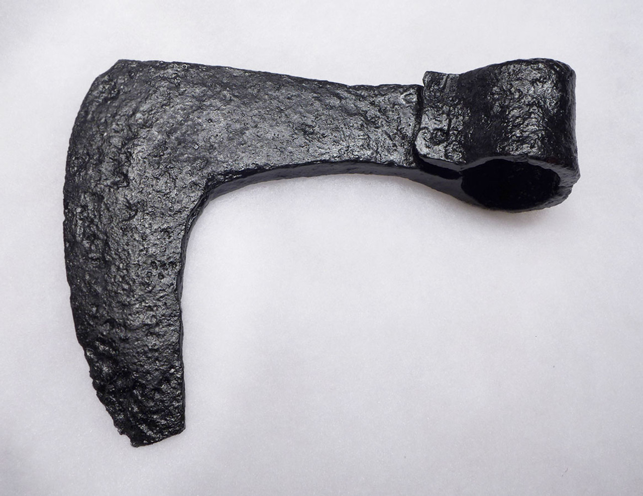 LARGE COMBAT DAMAGED ANCIENT VIKING BEARDED AXE OF THE SCANDINAVIAN VARANGIAN GUARD FROM THE ROMAN BYZANTINE ARMY  *R280