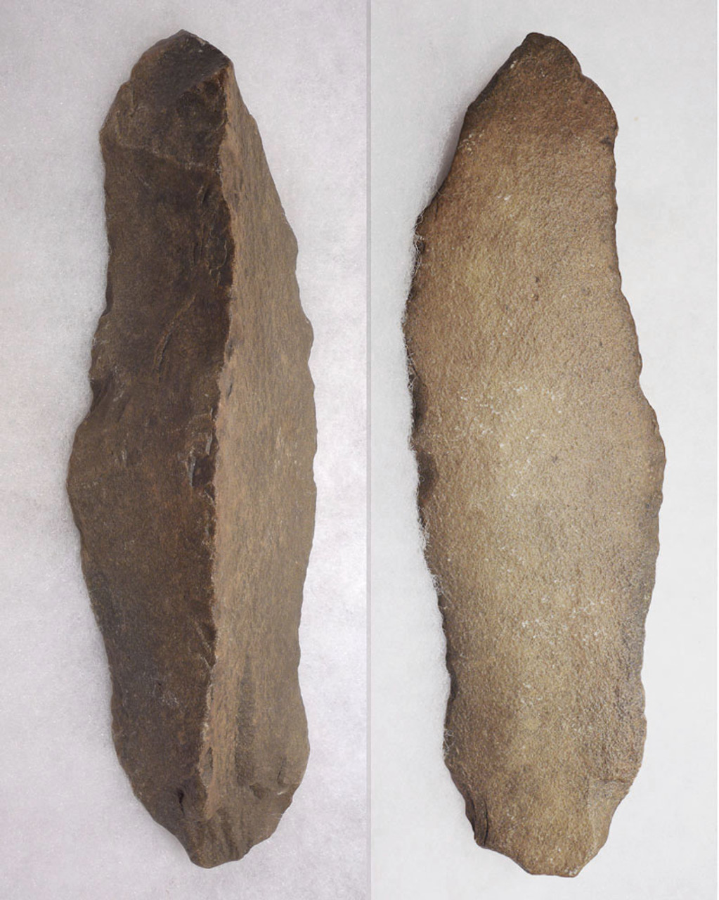 INTELLIGENT DESIGN LARGE PREHISTORIC STONE AGE ACHEULEAN KNIFE MADE BY HOMO ERGASTER  *ACH418
