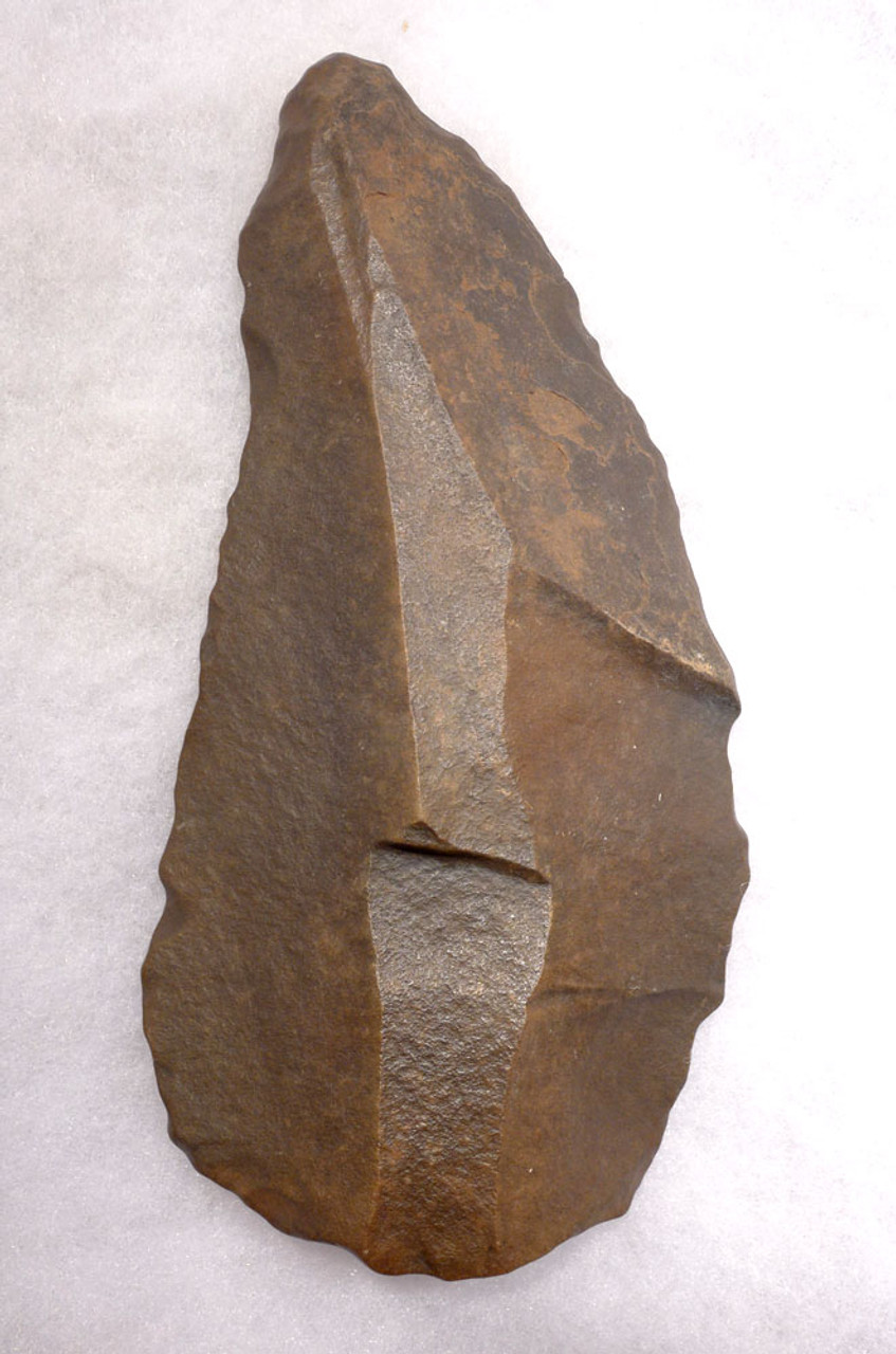 FINEST LARGE ACHEULEAN CONVERGENT SCRAPER BLADE MADE BY HOMO ERGASTER  FROM THE AFRICAN LOWER PALEOLITHIC  *ACH417