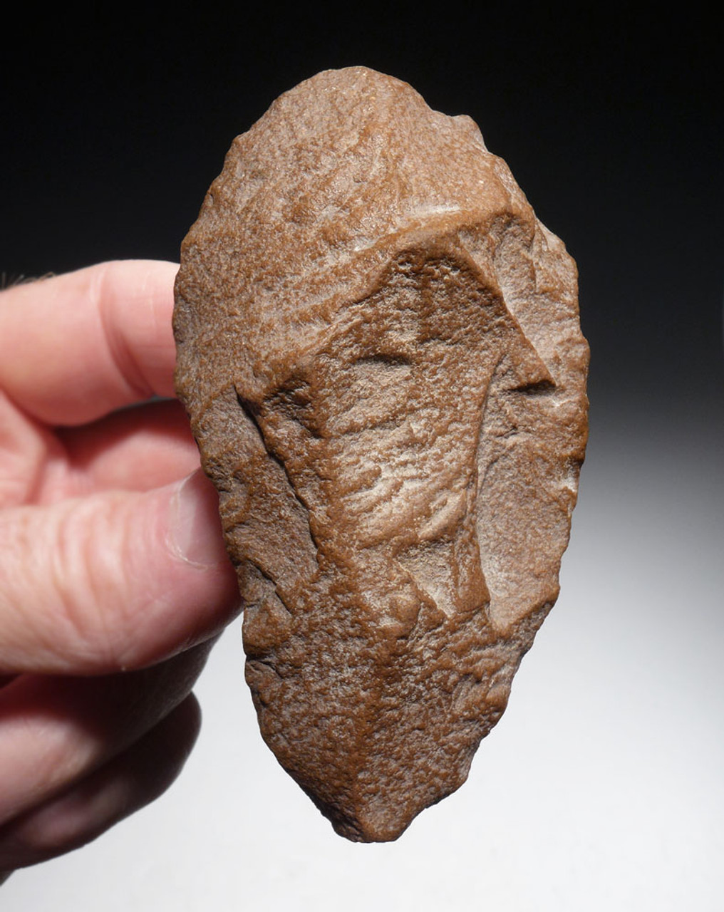 CHOICE MOUSTERIAN AMYGDALOID HANDAXE FROM MIDDLE STONE AGE NORTH AFRICA  *ACH424