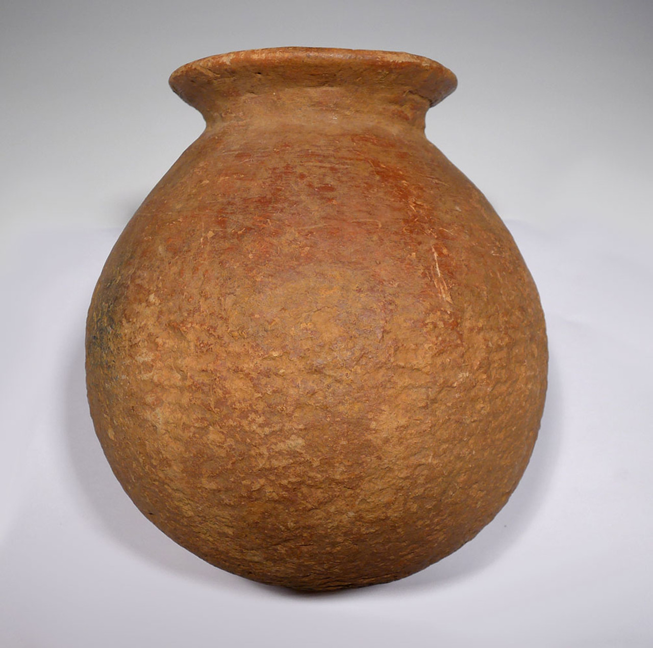 EXTREMELY RARE AFRICAN NEOLITHIC FLARED RIM CERAMIC POT FROM THE WEST SAHEL  *PCAP02