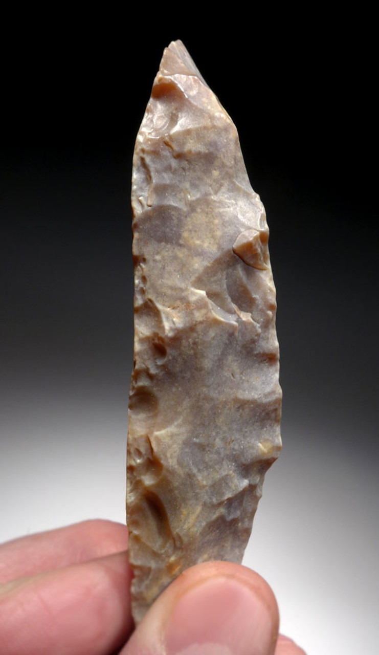 TWO LARGE FLINT NEOLITHIC KNIVES FROM THE AFRICAN CAPSIAN CULTURE  *CAP275