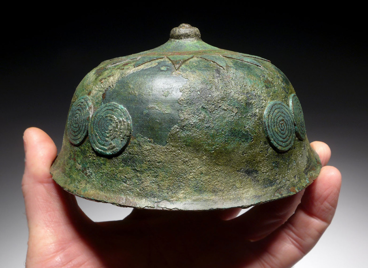 MUSEUM-CLASS ANCIENT ROYAL BRONZE SHIELD BOSS FROM NEAR EAST LURISTAN  *LUR201