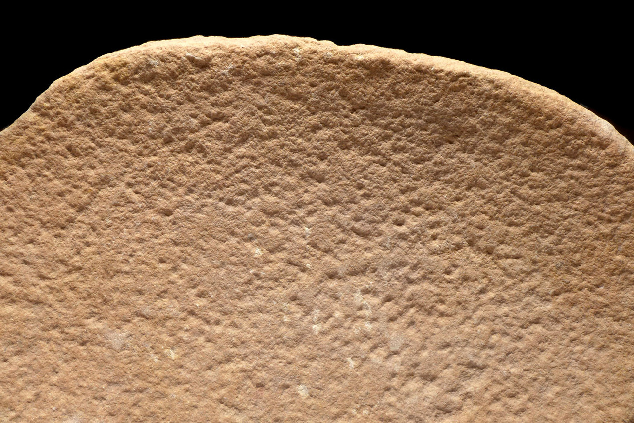 EXCEPTIONAL AFRICAN CAPSIAN NEOLITHIC STONE GRINDING MILL BASIN AND RUBBING STONE  *CAP292