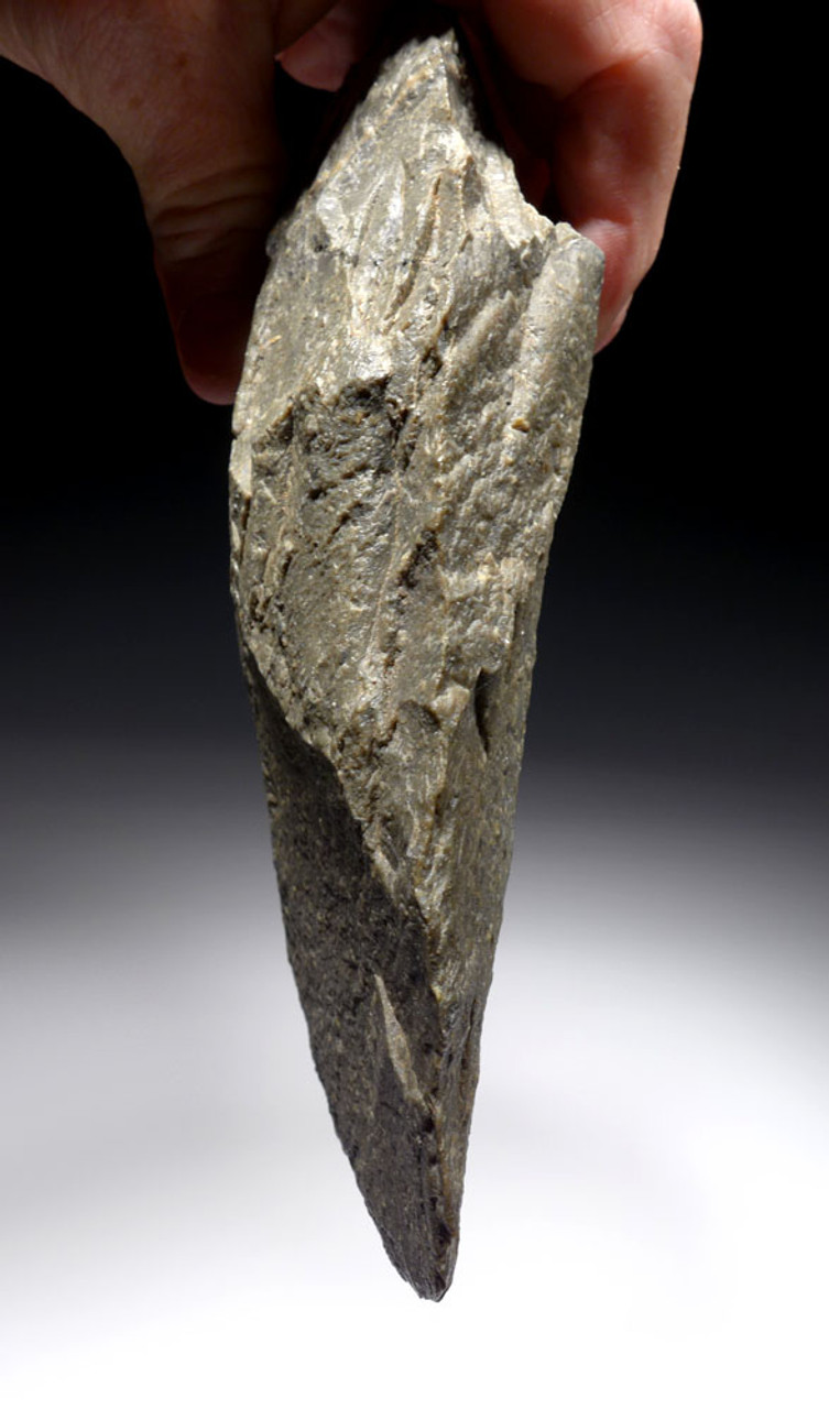 MASSIVE RHYOLITE ACHEULEAN CLEAVER HAND AXE FROM FROM EAST AFRICA   *ACH439