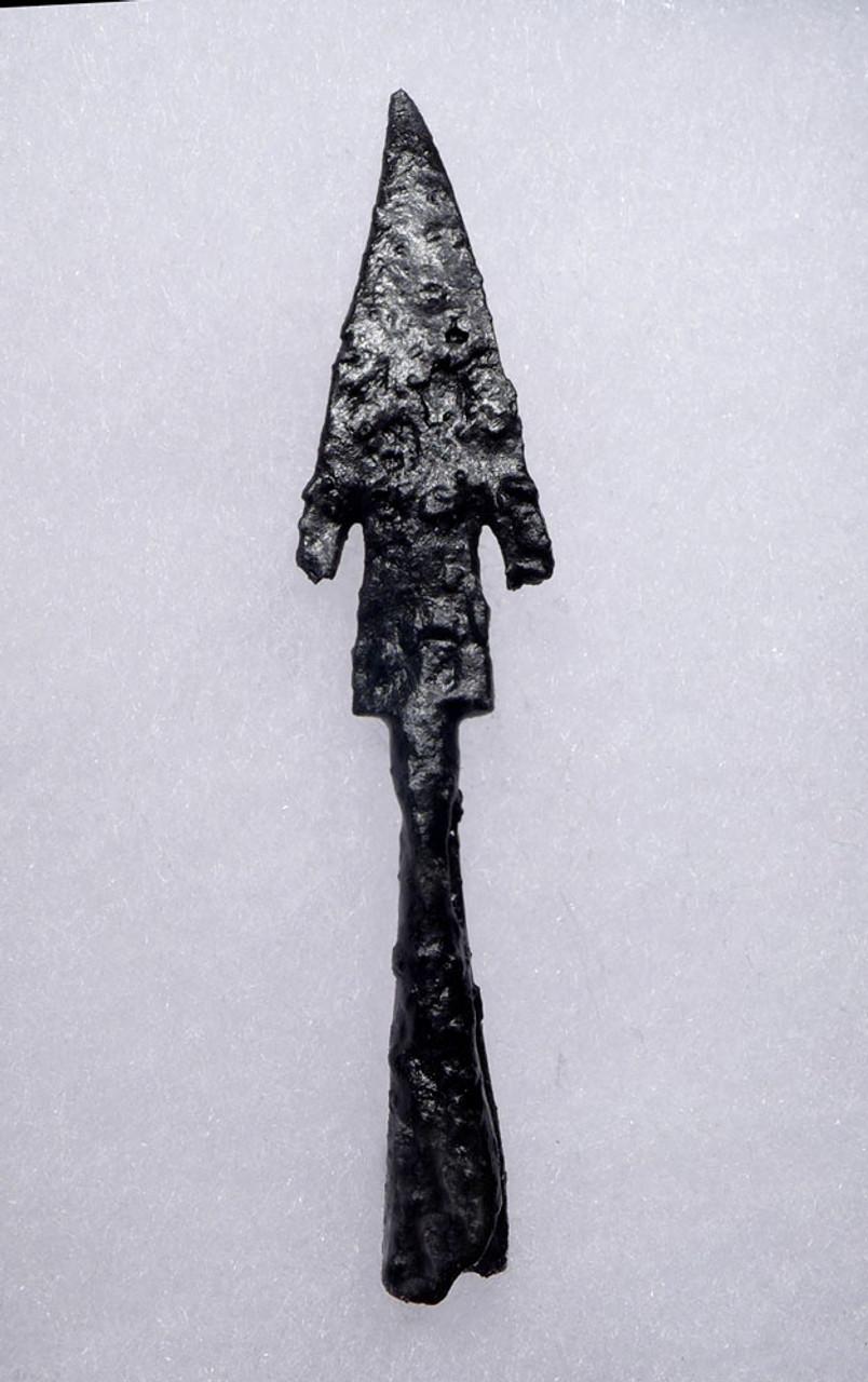 ANCIENT BROADHEAD ARROWHEAD WITH BATTLE DAMAGE FROM THE BYZANTINE ROMAN EMPIRE  *R289