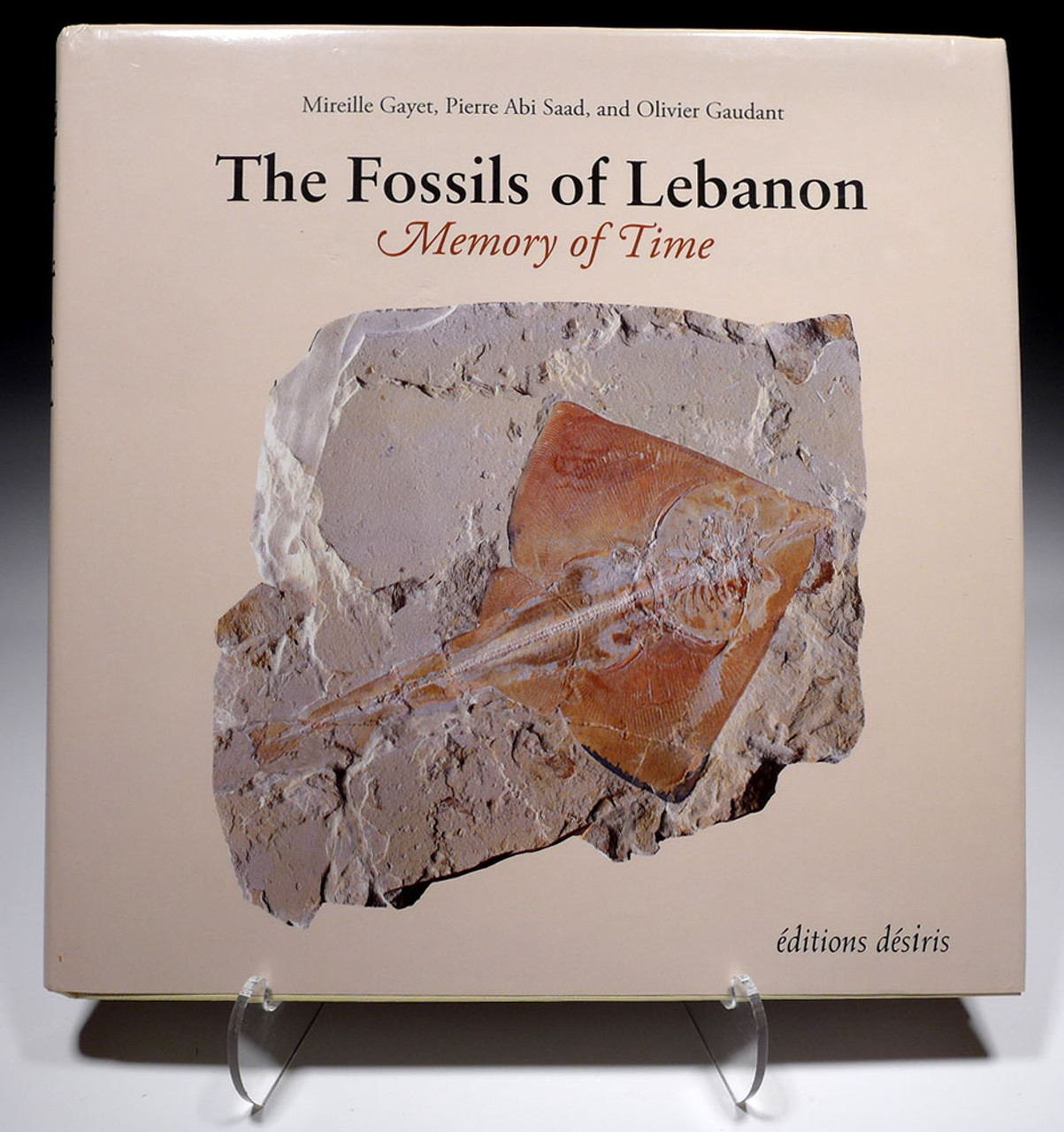 THE FOSSILS OF LEBANON: MEMORY OF TIME HARDCOVER BOOK  *BK7
