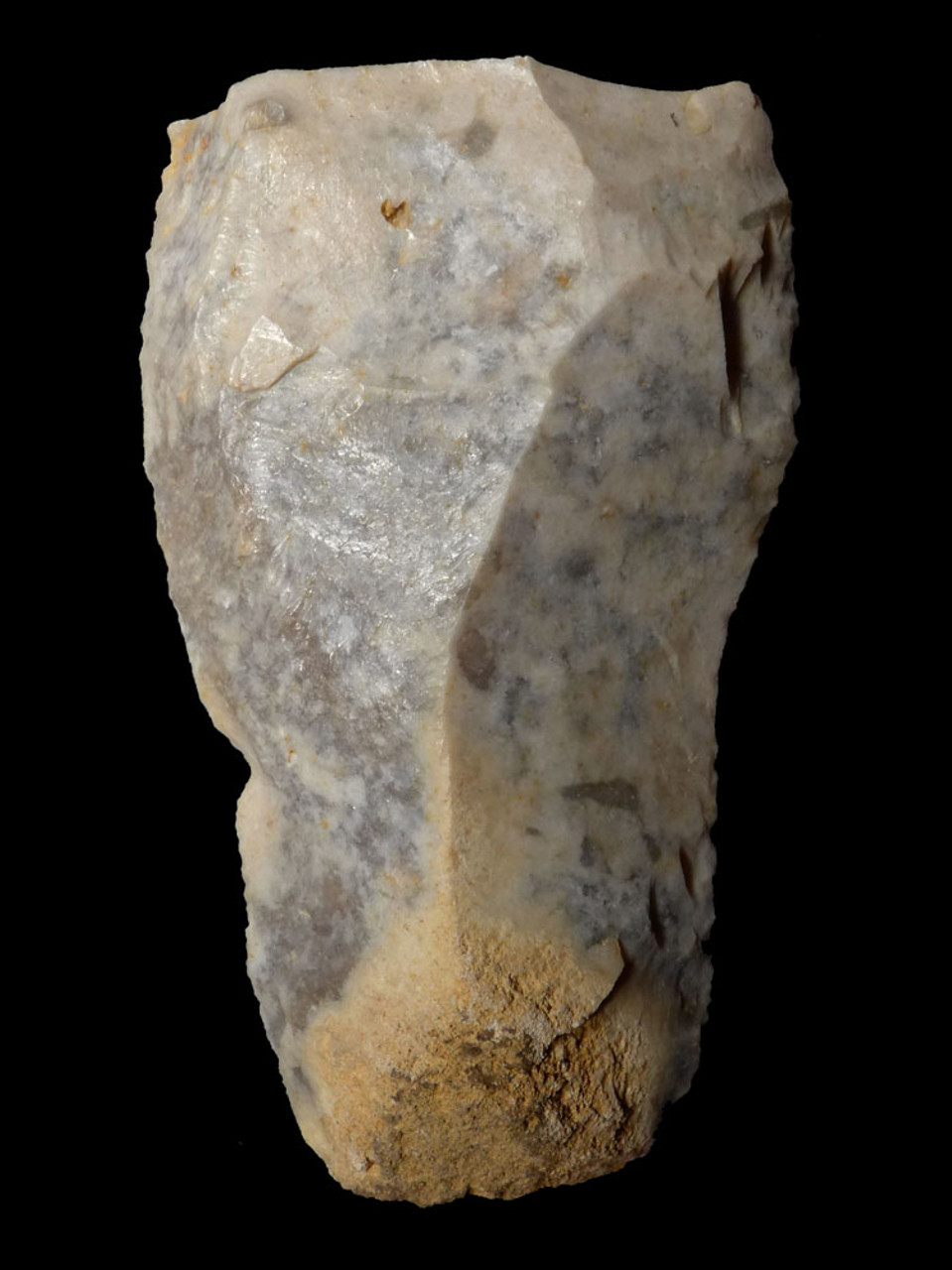 LARGE FINEST NEANDERTHAL MOUSTERIAN FLINT KNIFE TOOL FROM CAEN FRANCE  *M437