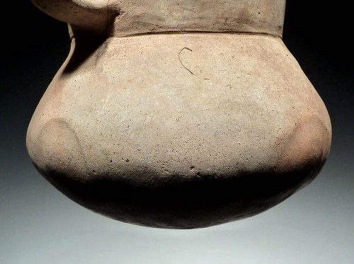 EUROPEAN BRONZE AGE DECORATED CERAMIC PITCHER FROM THE URNFIELD LUSATIAN CULTURE *UP002