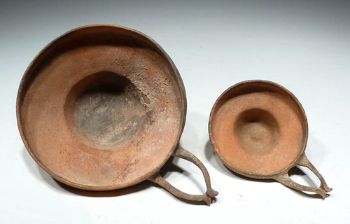 EXTREMELY RARE ANCIENT GREEK KYATHOS WINE MIXING DIPPERS *R111