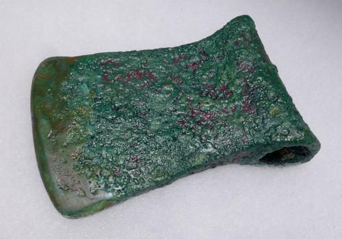 BROAD BLADE ANCIENT BRONZE NEAR EASTERN LURISTAN HEAVY BATTLE AXE *NE184