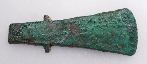 ANCIENT LURISTAN BRONZE SHOULDERED HUB AXE - EARLIEST AXE TYPE  *LUR163