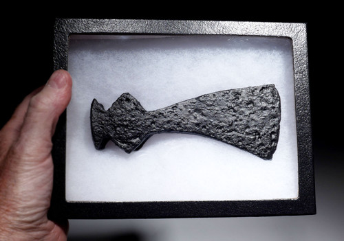 EXCEPTIONALLY PRESERVED VARANGIAN GUARD ANCIENT AXE FROM THE ROMAN BYZANTINE ARMY  *R266